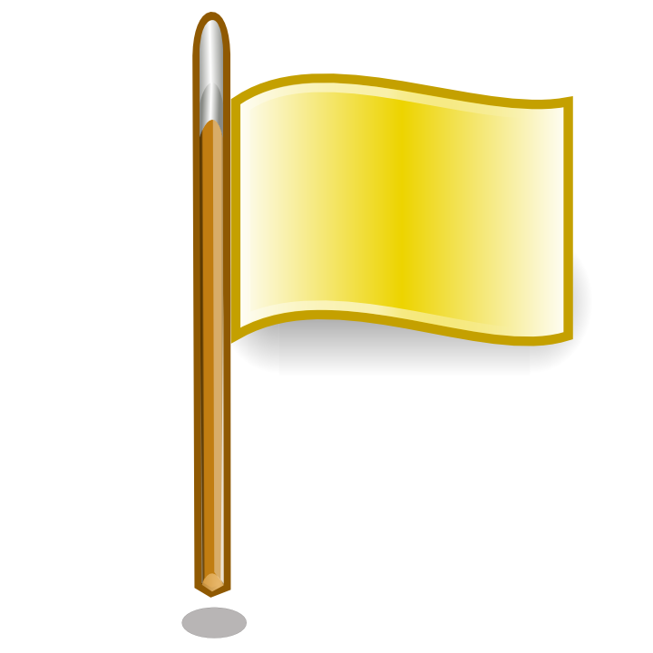 yellow flags icon png