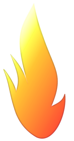 yellow flame png