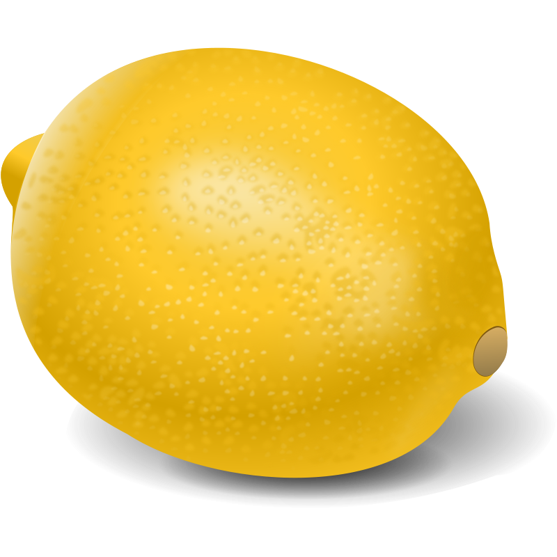 yellow lemon png