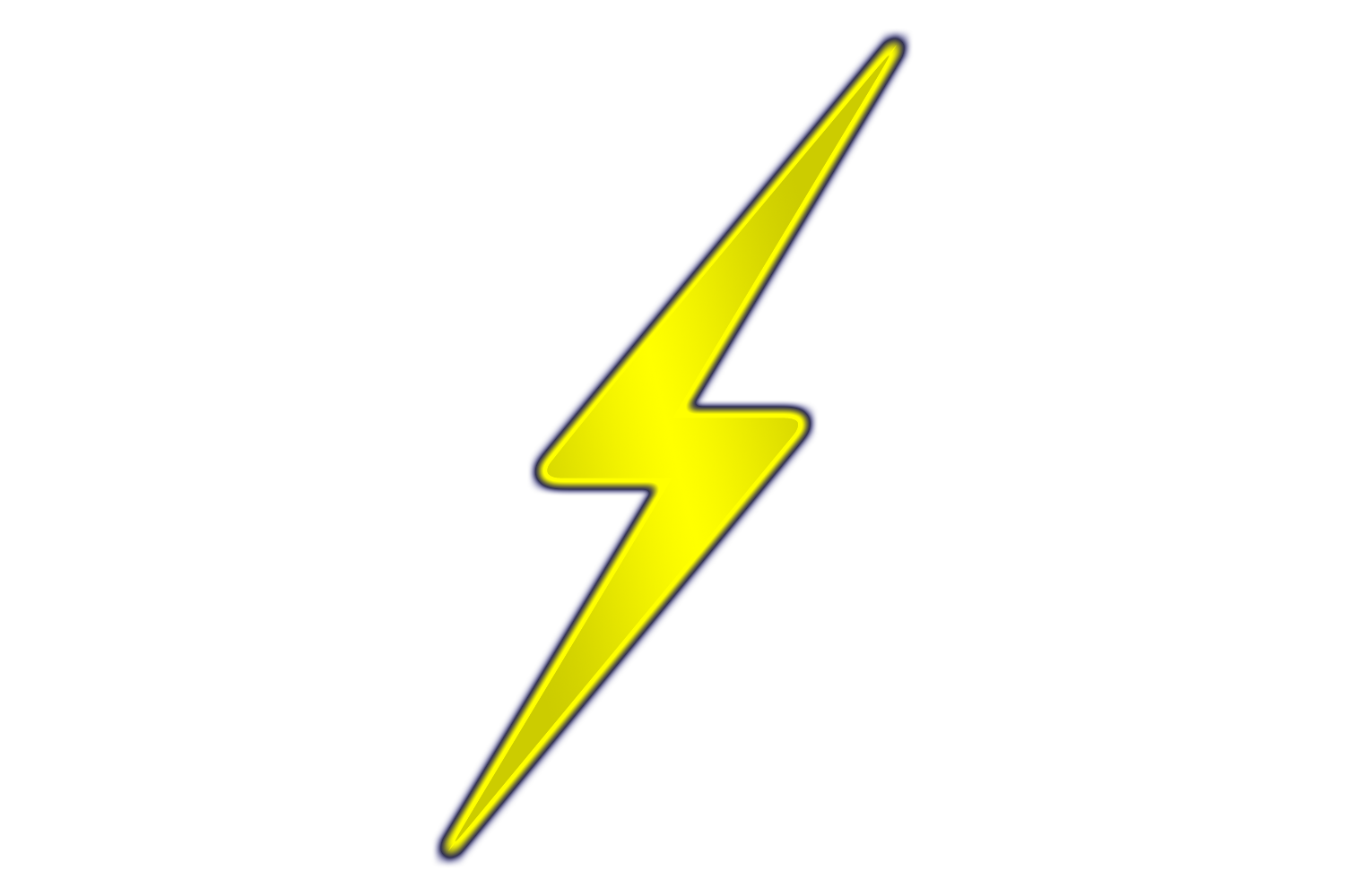 Yellow Lightning Bolt Background image #44043