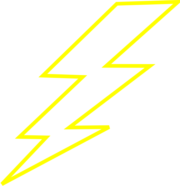 Yellow Lightning Electricity Bolt Thunder   image #44058