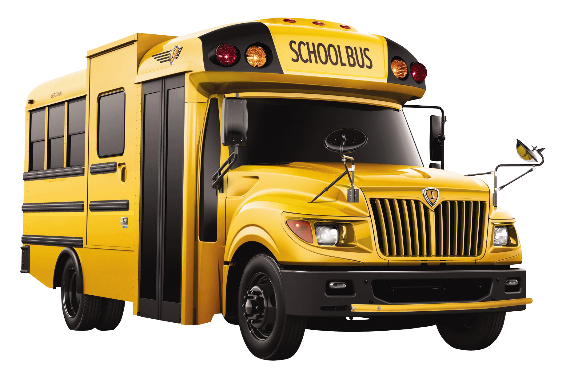 Yellow School Bus Png image #40036