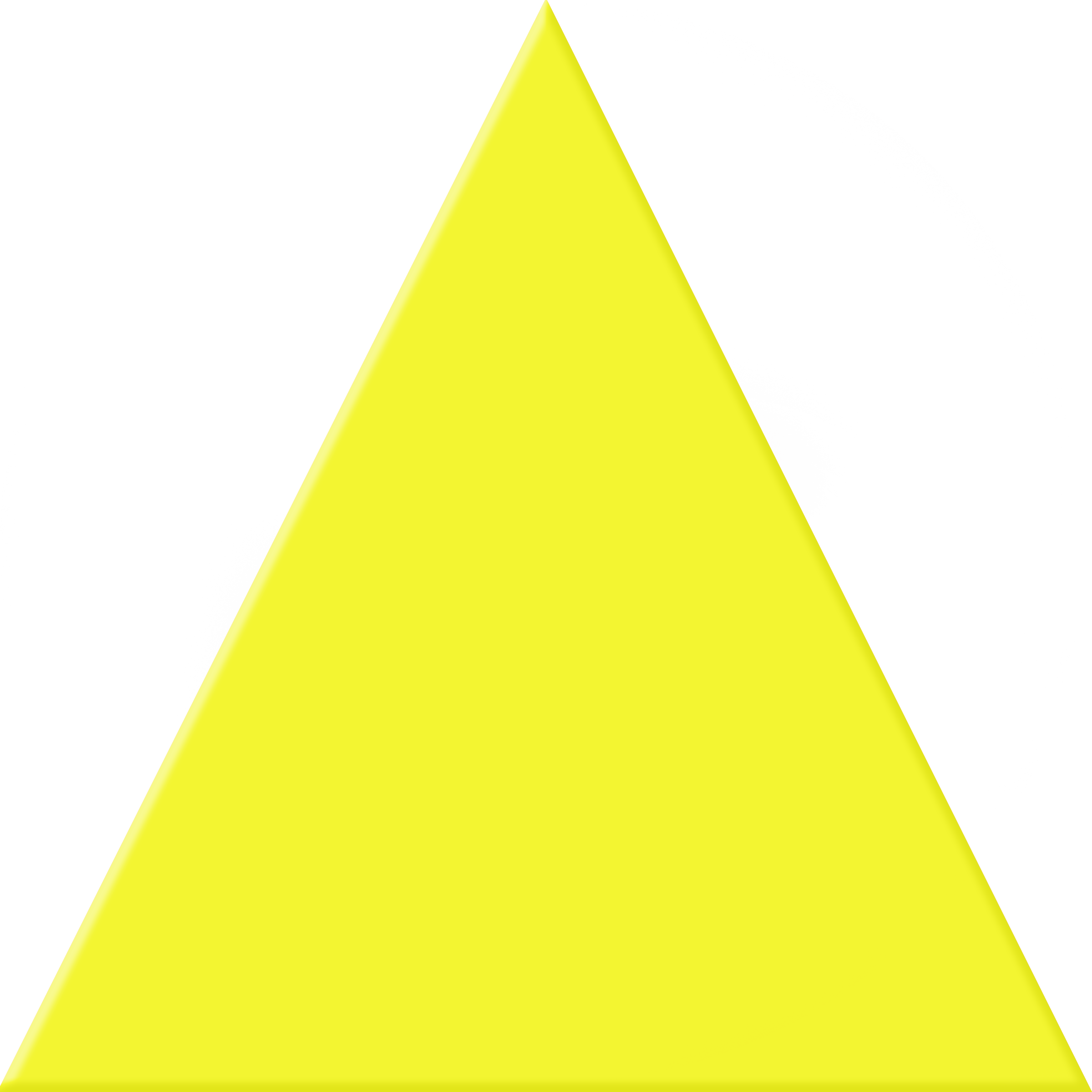 Yellow Triangle Image Transparent Png image #42405