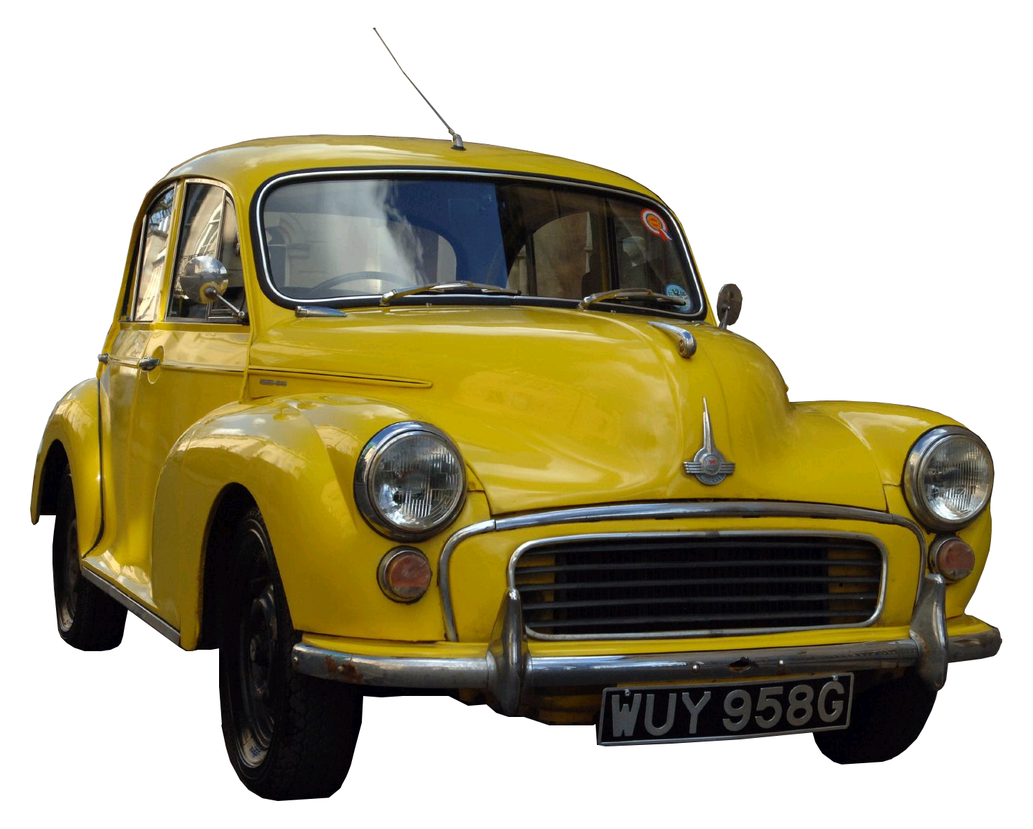 yellow vintage cars png