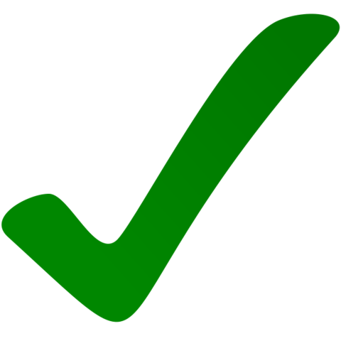 Yes Check Mark Png image #39568