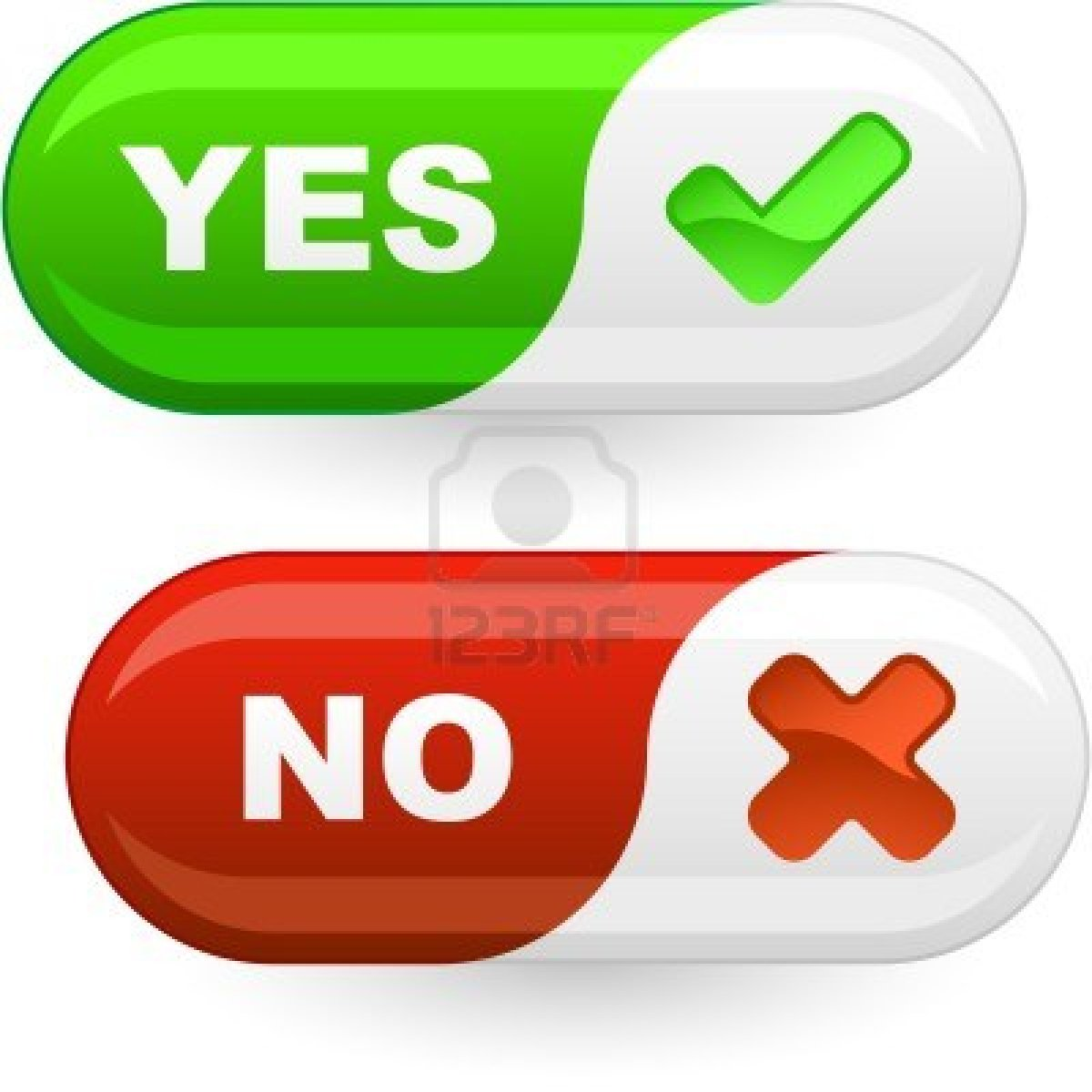 Yes No Png image #39561