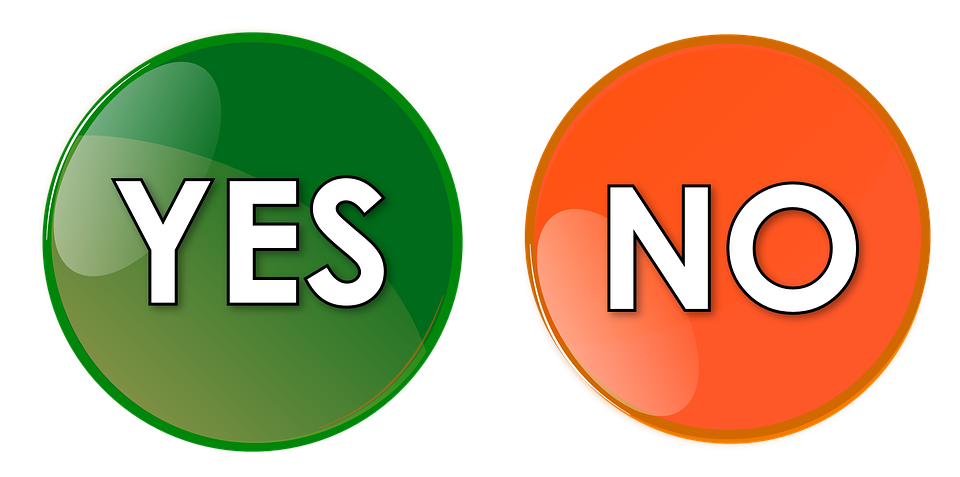 Yes No Png image #39555