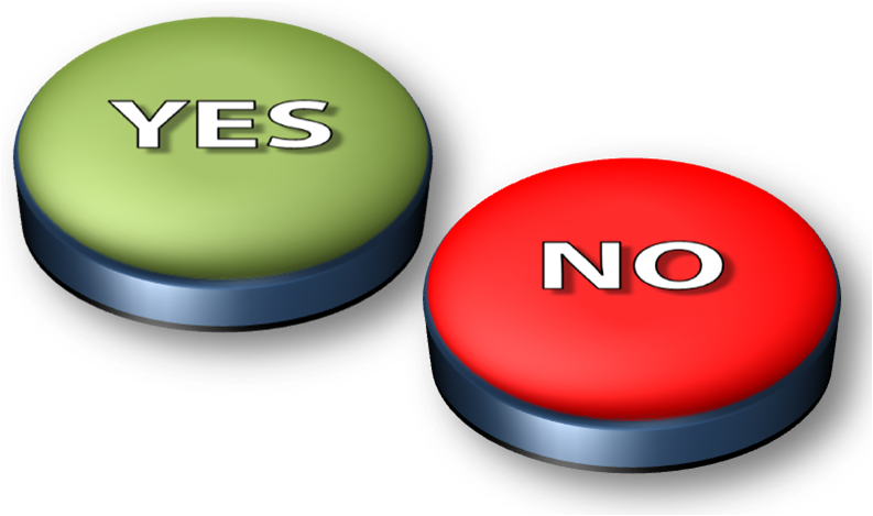 Yes Or No Png image #39563