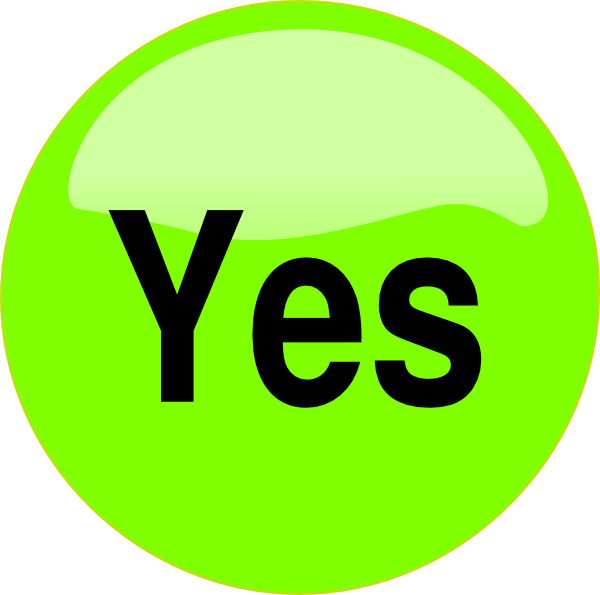 Yes PNG File image #39562