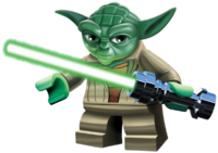 Yoda Lego Star Wars Characters PNG Clipart