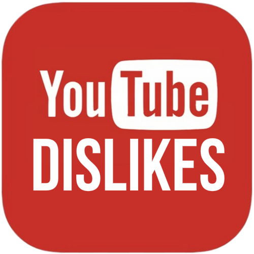 Youtube Dislike Button Download Icon image #45981