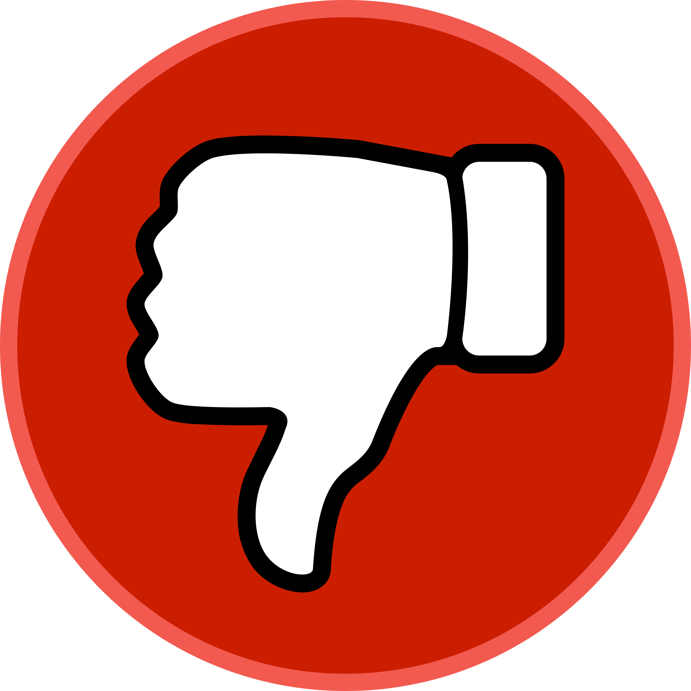 Youtube Dislike Vector Png image #45966
