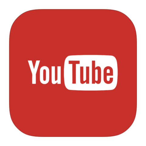 Image result for youtube logo transparent