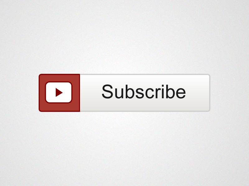 Youtube Subscribe Large Button Png image #39346
