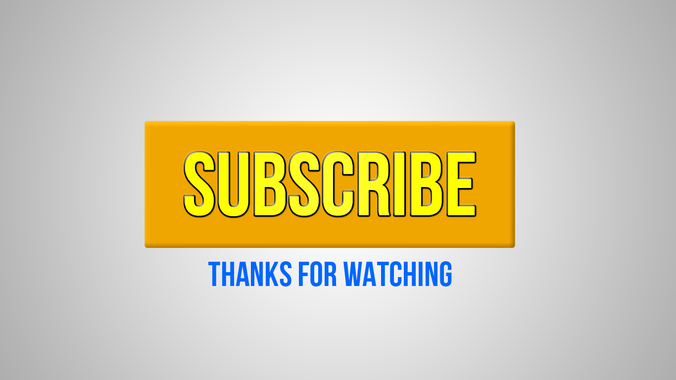 youtube subscribe thanks watching png