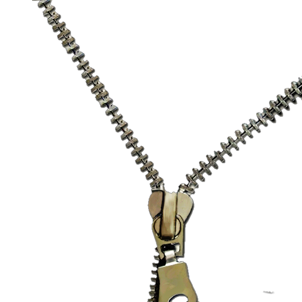 Zipper for clothing PNG Pic