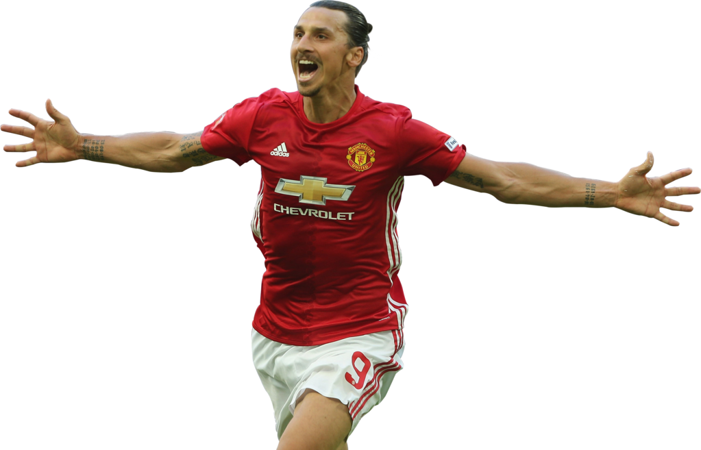 Red T Shirt Zlatan Ibrahimovic Png image #41054