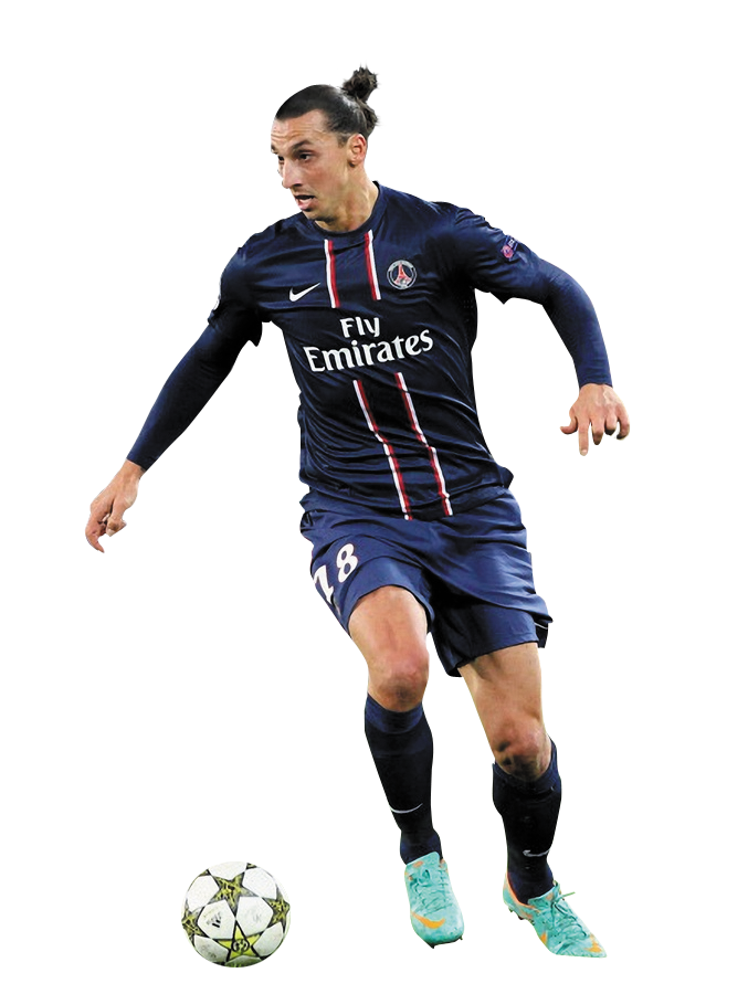 zlatan ibrahimovic play football png