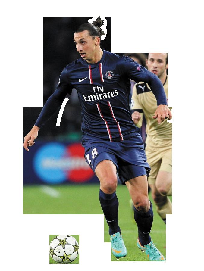 Zlatan Ibrahimovic Play Football Png image #41056