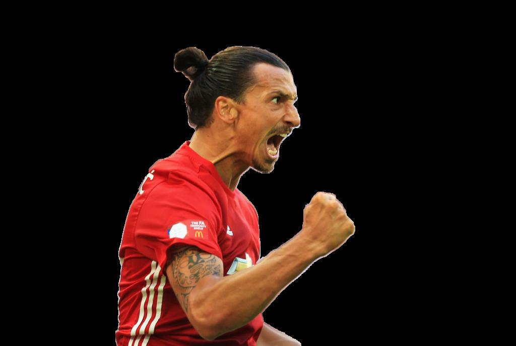 Successfull Red Zlatan Ibrahimovic Png image #41061