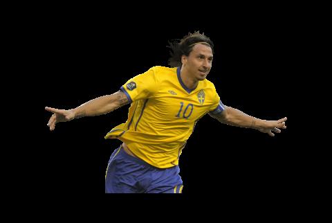 Zlatan Ibrahimovic Running Png image #41066