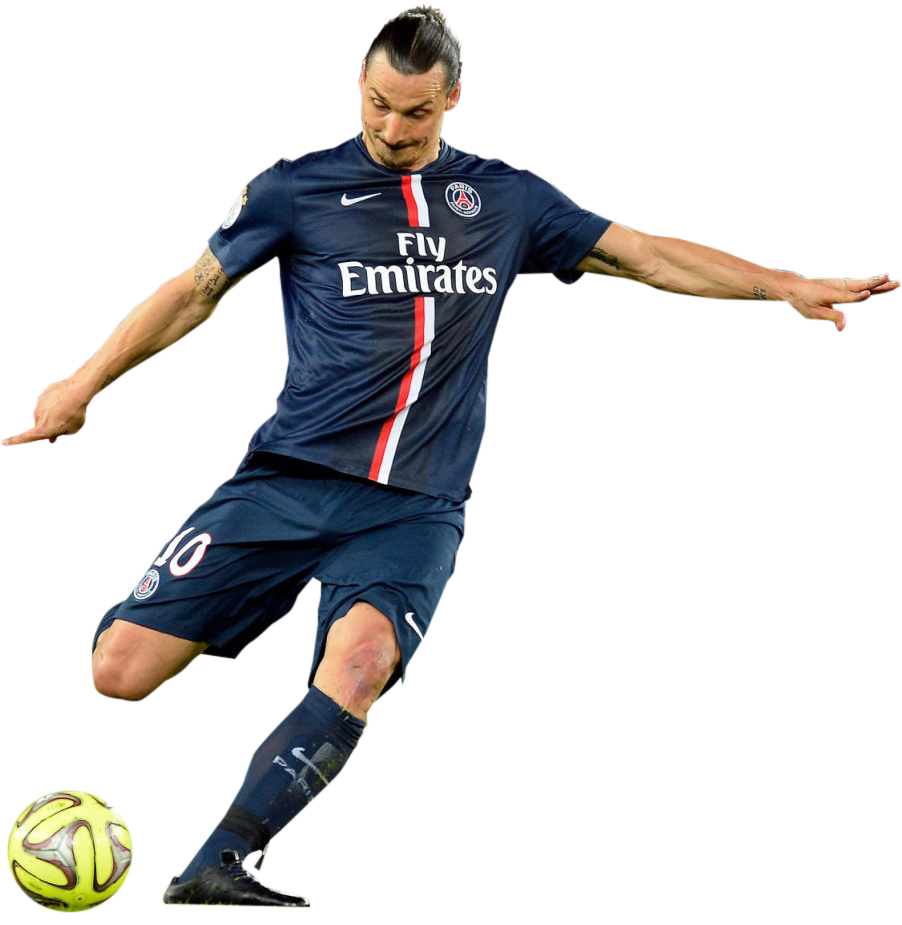 football player zlatan ibrahimovic png