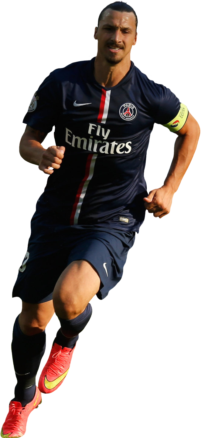 zlatan ibrahimovic running wallpaper
