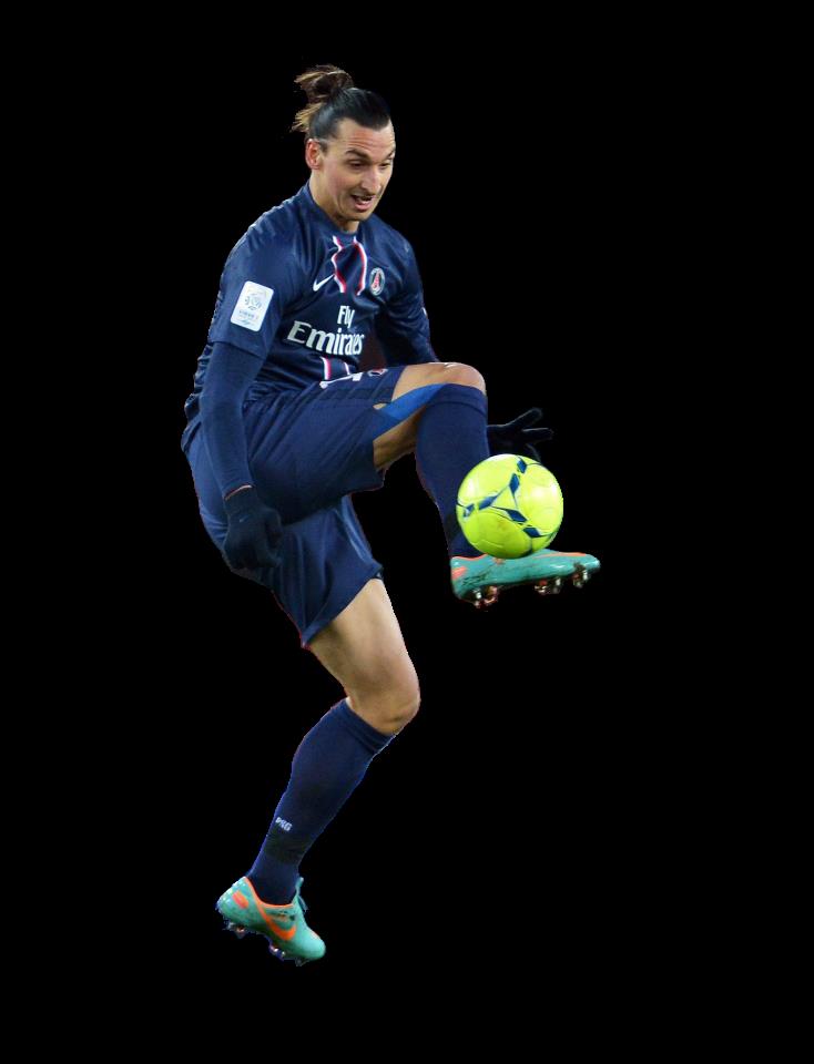Football Gamer Zlatan Ibrahimovic Png image #41051