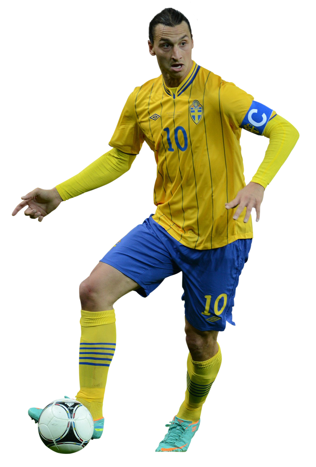 yellow zlatan ibrahimovic png