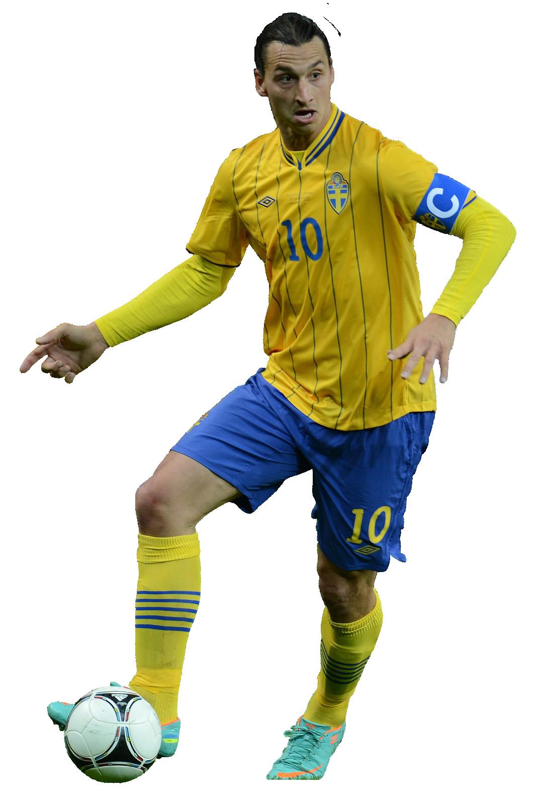 Yellow Zlatan Ibrahimovic Png image #41053